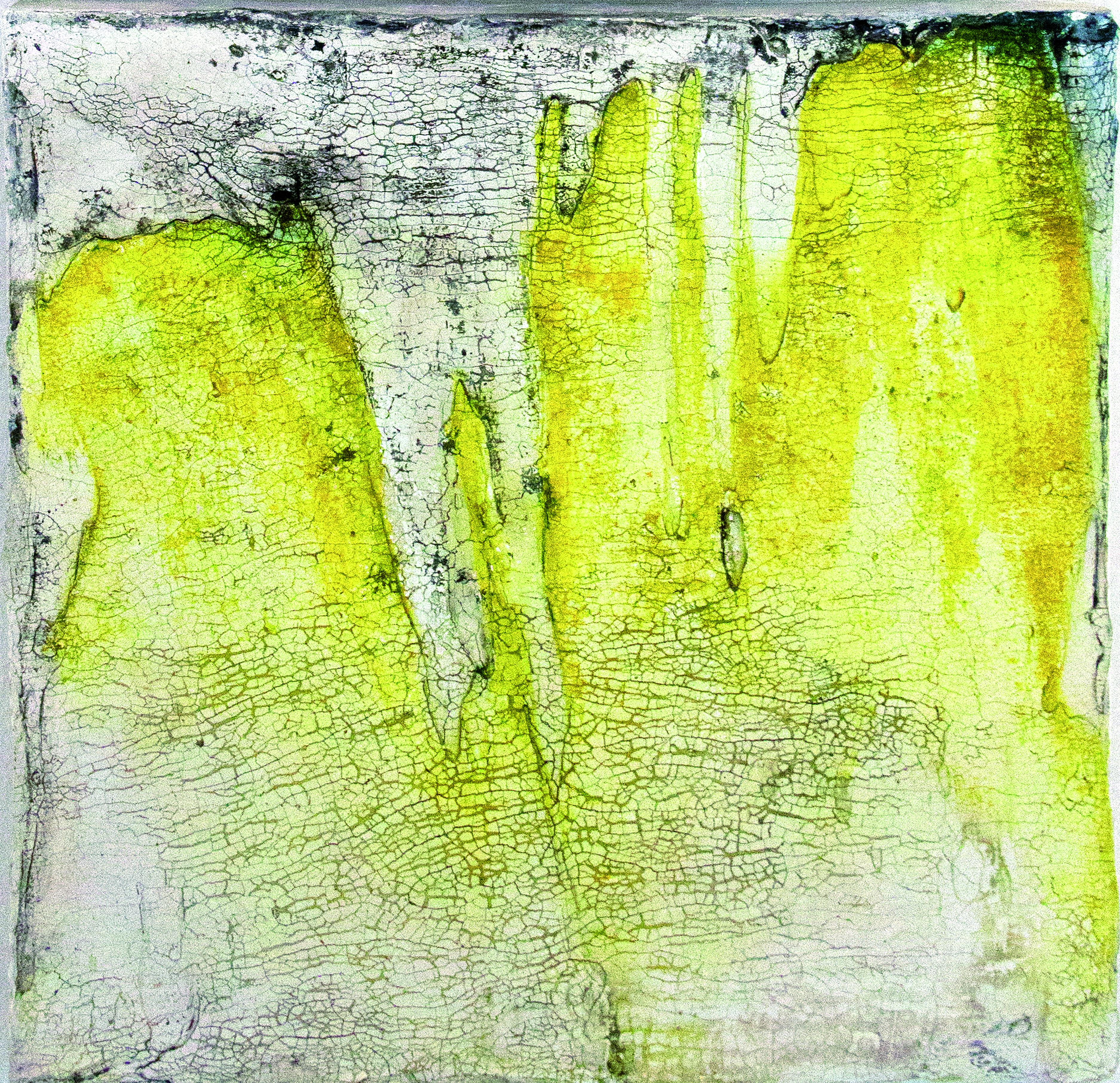 Werknr. SK_122| O.T. | Intonaco, Öl, Wachs auf Holz | 30 x 30 cm | 2015