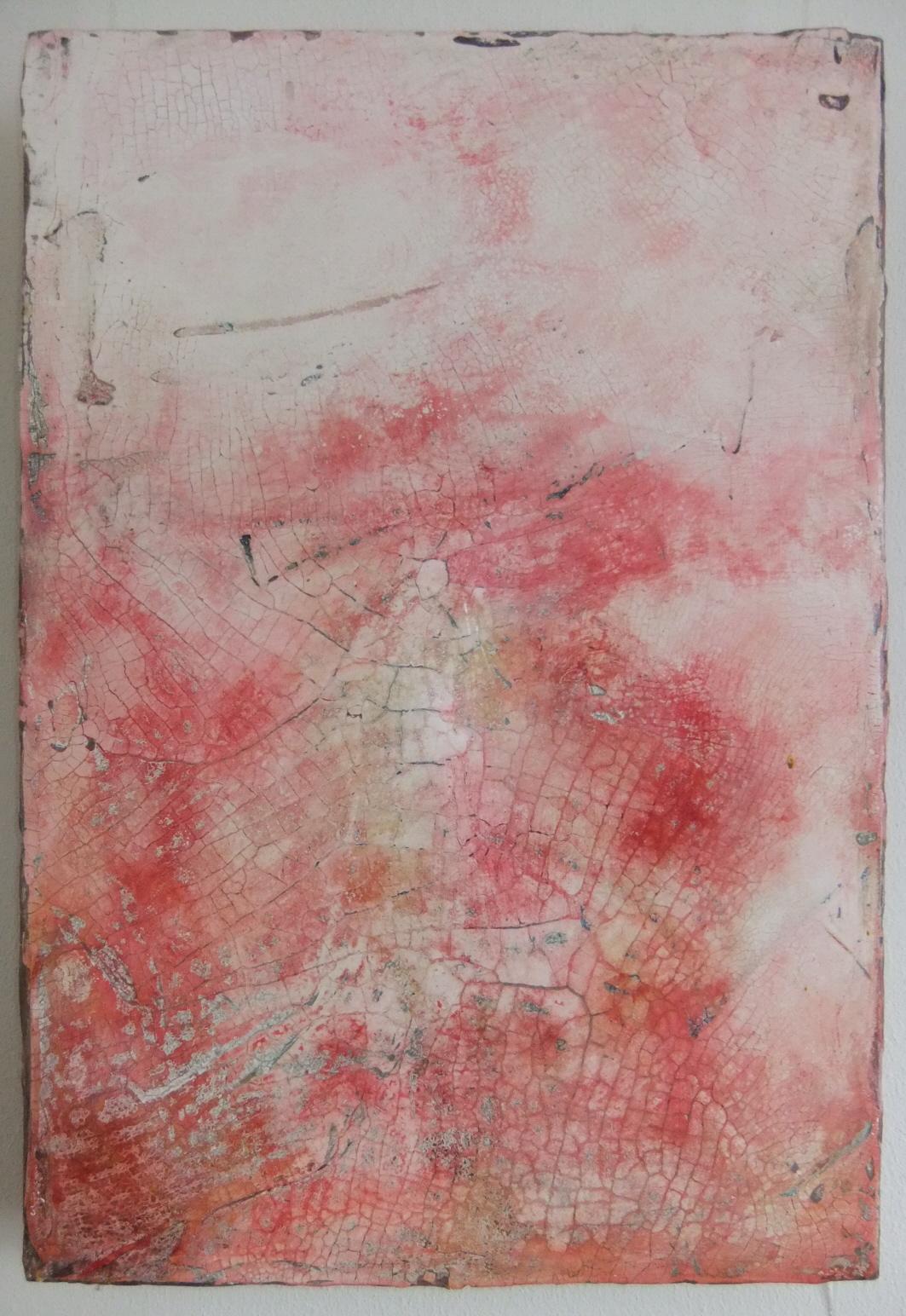 Werknr. SK_108 |O.T| Intonaco, Öl, Wachs auf Holz | 40 x 60 cm |2011