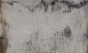 Werknr. SK_116 | O. T. Intonaco, Öl, Wachs auf Holz | 30 x 30 cm |
