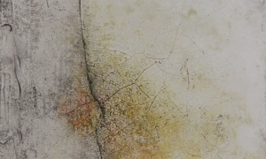 Werknr. SK_113| O. T. | Intonaco, Öl, Wachs auf Holz | 30 x 30 cm