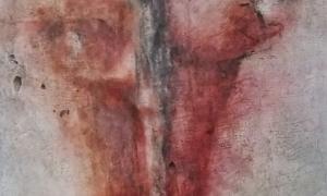 Werknr. SK_111 | O.T. | Intonaco, Öl, Wachs auf Holz | 120 x 60 cm | 2015