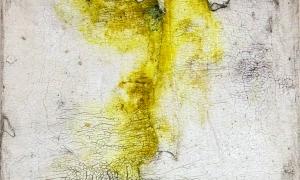 Werknr. SK_120 | O.T. | Intonaco, Öl, Wachs auf Holz | 30 x 30 cm | 2015