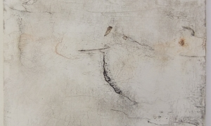 Werknr. SK_109 |O. T. |Intonaca, Öl, Wachs auf Holz |90 x 120 cm | 2013
