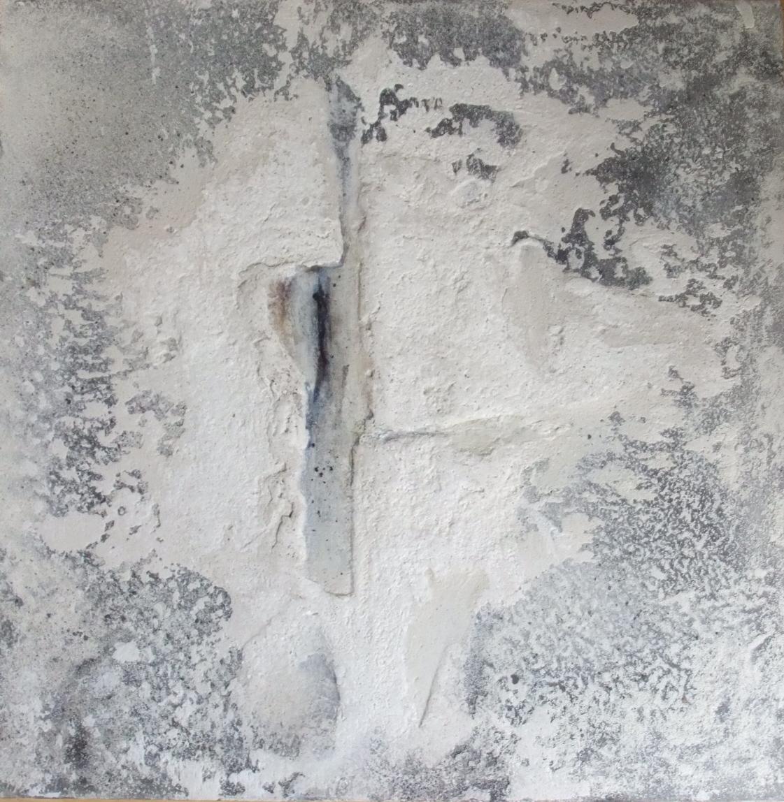 Werknr. 114_o.T._Gipshaftputz, Marmormehl, Kasein, Pigmente auf Leinwand_60x60cm_2012 (2)